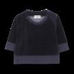 Sweater Rhodes donkerblauw