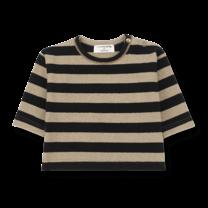1+ in the Family Shirt long sleeve Vienna zwart/beige