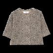 Shirt long sleeve Rotterdam zwart/beige