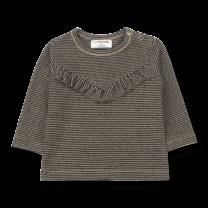 1+ in the Family Shirt girly Mechelen zwart/beige