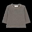 Shirt long sleeve Liege zwart/beige