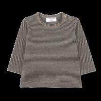 1+ in the Family Shirt long sleeve Liege zwart/beige