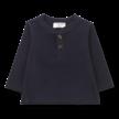 Shirt long sleeve Albi donkerblauw
