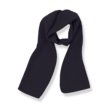Muts en shawl Lucca donkerblauw