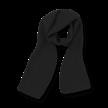 Muts en shawl Lucca zwart