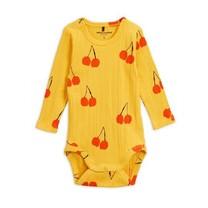 Mini Rodini Cherry ls body Yellow