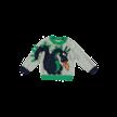 Sweater grijs met draak