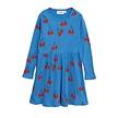 Cherry ls dress Blue