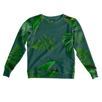 Snurk Green Forest Sweater dames