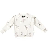 Snurk Unicorn White Sweater