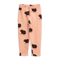 Mini Rodini Guinea pig sweatpants pink