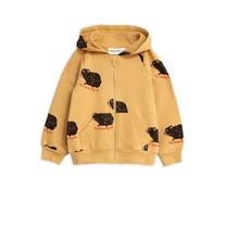 Mini Rodini Guinea pig zip hoodie