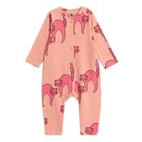 Mini Rodini Catz jumpsuit Pink