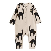 Mini Rodini Catz jumpsuit Light grey