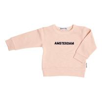 Broer & Zus Sweater Amsterdam pink-navy