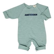 Broer & Zus Baby sweat suit Amsterdam cactus