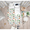 Dekbedovertrek jungle pattern  junior bed