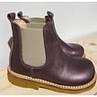 Classic chelsea boot with elastic Lavender Shine/Beige