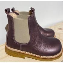 Angulus kinderschoenen Classic chelsea boot with elastic Lavender Shine/Beige