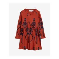 Mini Rodini Skeleton aop ls dress