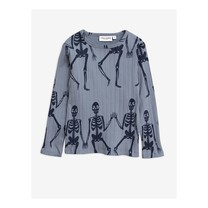 Mini Rodini Skeleton aop ls tee