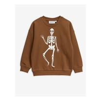 Mini Rodini Skeleton sp sweatshirt brown