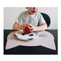 Liewood Kinder placemat Aura cat rose