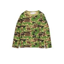 Mini Rodini T-shirt camouflage lange mouw