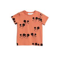 Mini Rodini T-shirt muis rood korte mouw