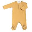 Babypakje voetjes mustard