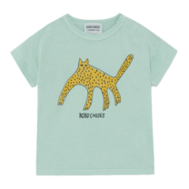 Bobo Choses T-Shirt Leopard Frosty Green
