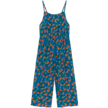 Overall Oranges Woven Azuur Blauw
