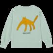 Sweatshirt Leopard Frosty Green