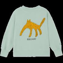 Bobo Choses Sweatshirt Leopard Frosty Green