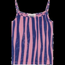 Bobo Choses Tank Top Zebra Heather Roze