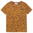 T-shirt dierenprint Mocha Bisque