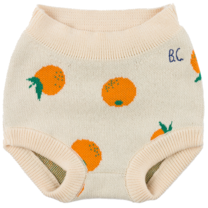 Bobo Choses Culotte Oranges Knitted Turtledove
