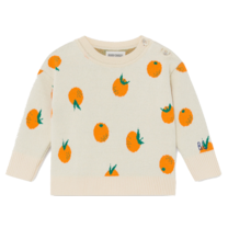 Bobo Choses Jumper Oranges Knitted Turtledove