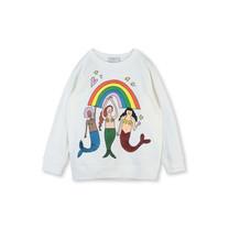 Stella McCartney kids Sweatshirt regenboog en zeemeermin