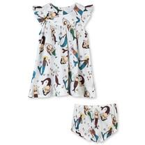 Stella McCartney kids Jurk zeemeermin met broekje