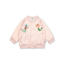 Stella McCartney kids Bomber jas reversible roze