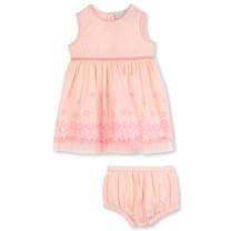 Stella McCartney kids Jurk sterren roze met broekje