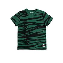 Mini Rodini T-shirt Tiger groen