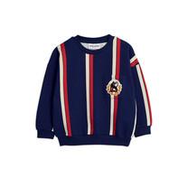 Mini Rodini Sweatshirt Stripe blauw