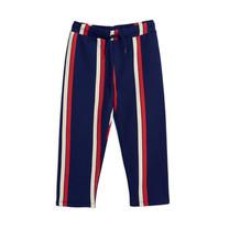 Mini Rodini Sweat pants Stripe blauw