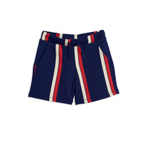 Mini Rodini Sweatbroek Stripe blauw