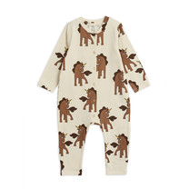 Mini Rodini Jumpsuit Unicorn off white