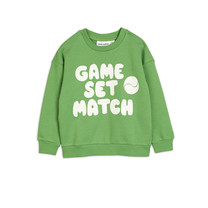 Mini Rodini Sweatshirt Game groen