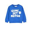 Sweatshirt Game blauw