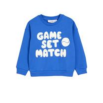 Mini Rodini Sweatshirt Game blauw